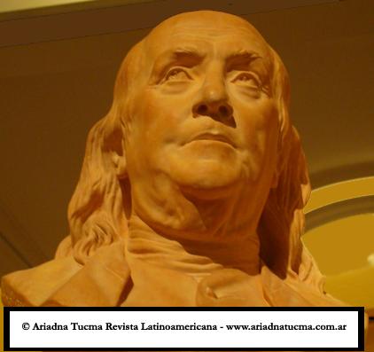 Benjamin Franklin. Bode Museum. Berlín