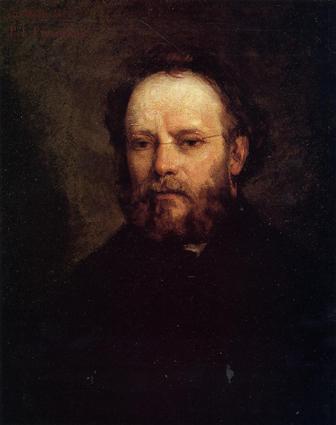 Pierre-Joseph Proudhon (1809, 1865), filósofo político y revolucionario francés. Retrato realizado por Gustave Courbet (1819, 1877). Musée d'Orsay