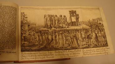 Guillotina a Luis XVI- Museo Berlin