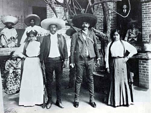 Material fílmico de la Revolución Mexicana - Imágenes de