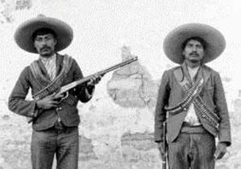 Soldados zapatistas 1915