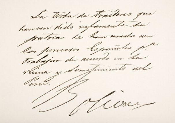 La imagen tiene un atributo ALT vacío; su nombre de archivo es Fragmento-de-Carta-firmada-x-S-Bolivar.jpg